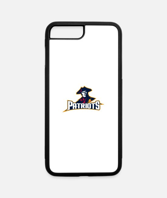 Drawing iPhone Cases - Patriots - iPhone 7 & 8 Plus Case white/black