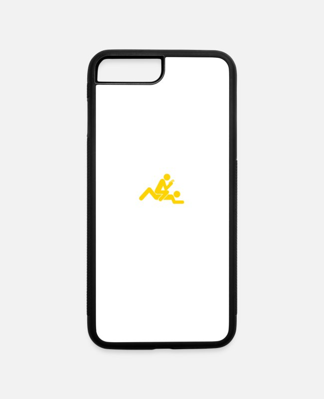 Sexual iPhone Cases - I Am A Multitasker! - iPhone 7 & 8 Plus Case white/black