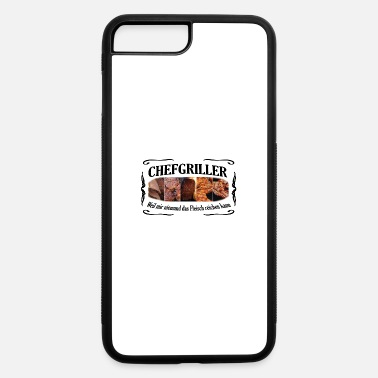 Schwarz CHEFGRILLER schwarz - iPhone 7 & 8 Plus Case