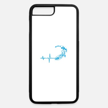 Masterjs gift heartbeat surfing - iPhone 7 & 8 Plus Case