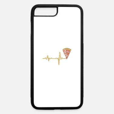 Calzone gift heartbeat pizza - iPhone 7 & 8 Plus Case
