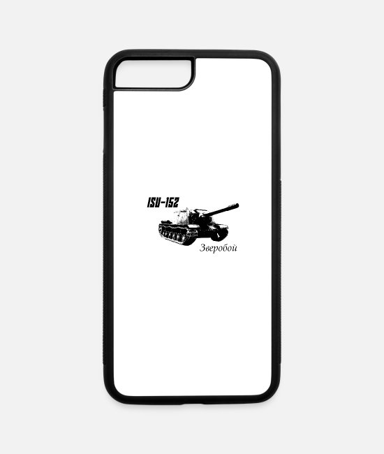"Hipster iPhone Cases - ISU-152 ""Beast Killer"" - iPhone 7 & 8 Plus Case white/black"
