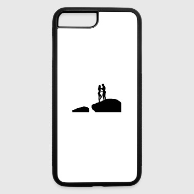 Stand stand on - iPhone 7 Plus/8 Plus Rubber Case
