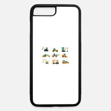Heavy Machinery Cool Crane - Heavy Machinery Equipment - Humor - iPhone 7 & 8 Plus Case