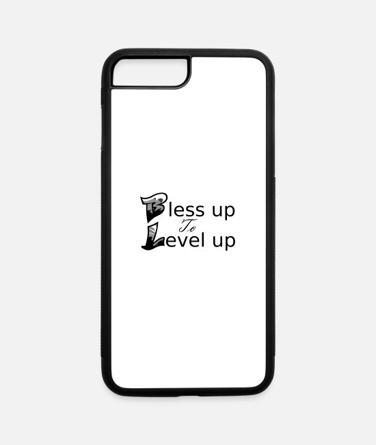 Bless You iPhone Cases - Bless Up - iPhone 7 & 8 Plus Case white/black