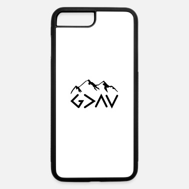 God God is Greater Than the Highs and lows dark - iPhone 7 & 8 Plus Case