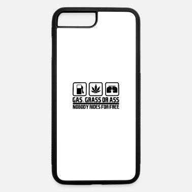Ass Gas Mask Gas Grass or Ass Black - iPhone 7 & 8 Plus Case