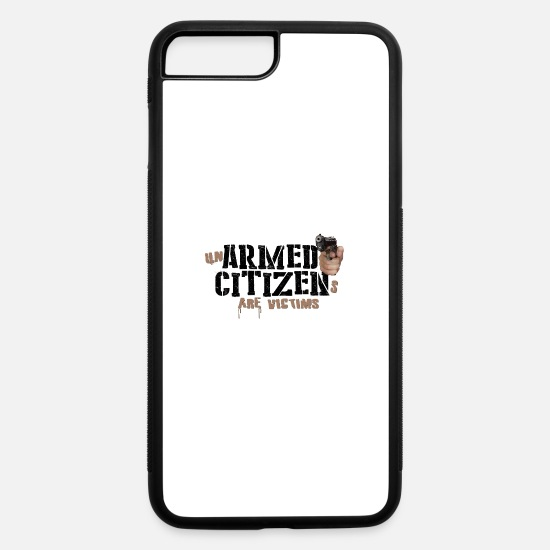Firearm iPhone Cases - Armed Citizens - iPhone 7 & 8 Plus Case white/black