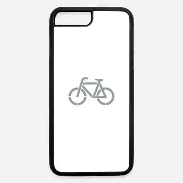 Stencil bicycle stencil - iPhone 7 & 8 Plus Case
