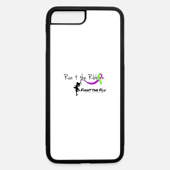Influenza iPhone Cases - RUN 4 THE RIBBON - iPhone 7 & 8 Plus Case white/black
