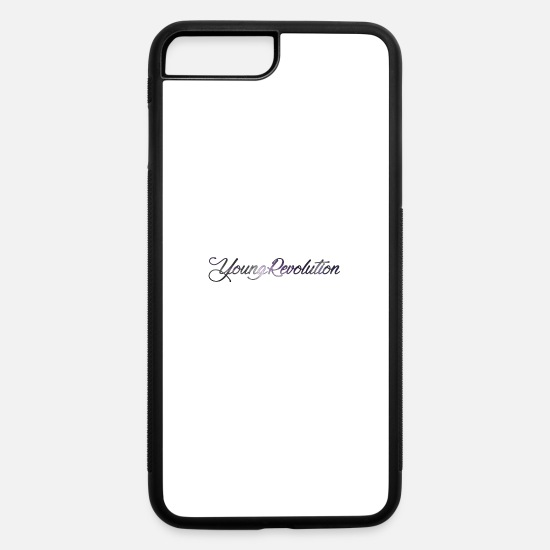 Mood iPhone Cases - young revolution - iPhone 7 & 8 Plus Case white/black
