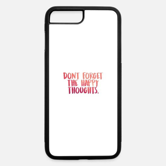 Lyrics iPhone Cases - lyrics inspirational - iPhone 7 & 8 Plus Case white/black