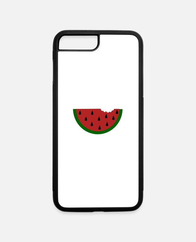 Water iPhone Cases - Water melon - iPhone 7 & 8 Plus Case white/black