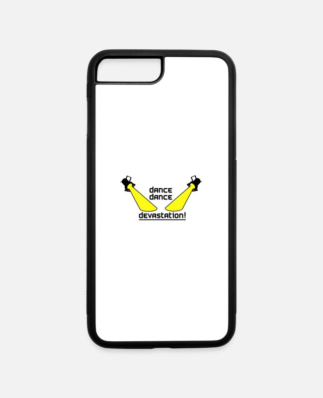 Dancehall iPhone Cases - Dance Dance Devastation - iPhone 7 & 8 Plus Case white/black
