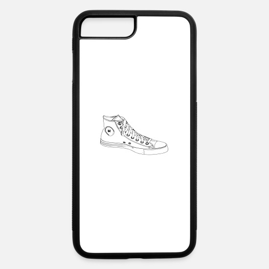 Sneakers iPhone Cases - Custom Chucks | Retro Sneakers - iPhone 7 & 8 Plus Case white/black