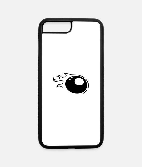Ball iPhone Cases - ball - iPhone 7 & 8 Plus Case white/black