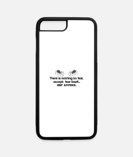 Nothing To Fear iPhone Cases - Nothing to Fear - iPhone 7 & 8 Plus Case white/black