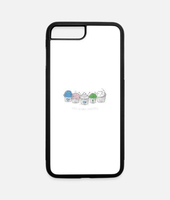 Game iPhone Cases - CuPCaKEs - iPhone 7 & 8 Plus Case white/black