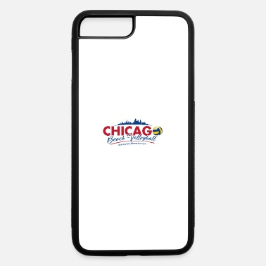 Beach Volleyball Chicago Beach Volleyball B - iPhone 7 Plus/8 Plus Rubber Case