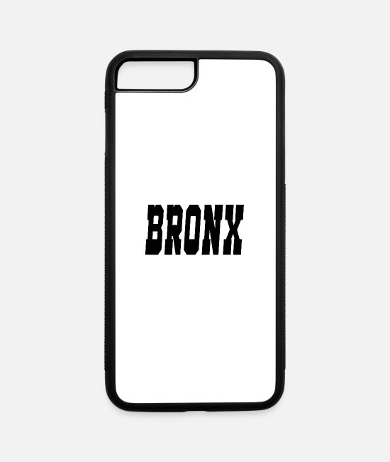 New York City iPhone Cases - bronx - iPhone 7 & 8 Plus Case white/black
