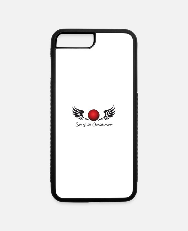 Nemesis iPhone Cases - Son the the creator comes - Nibiru - iPhone 7 & 8 Plus Case white/black