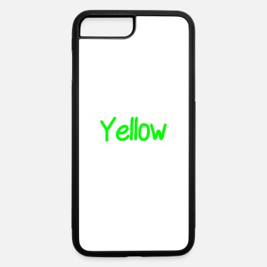 Yellow yellow - iPhone 7 Plus/8 Plus Rubber Case