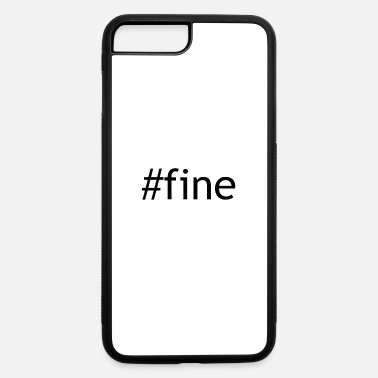 Fine fine - iPhone 7 Plus/8 Plus Rubber Case