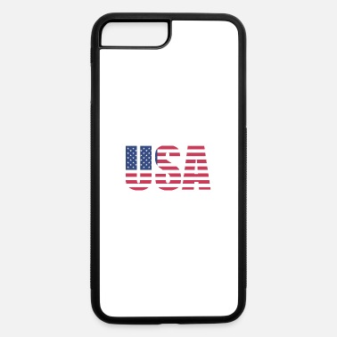 Usa USA - iPhone 7 Plus/8 Plus Rubber Case