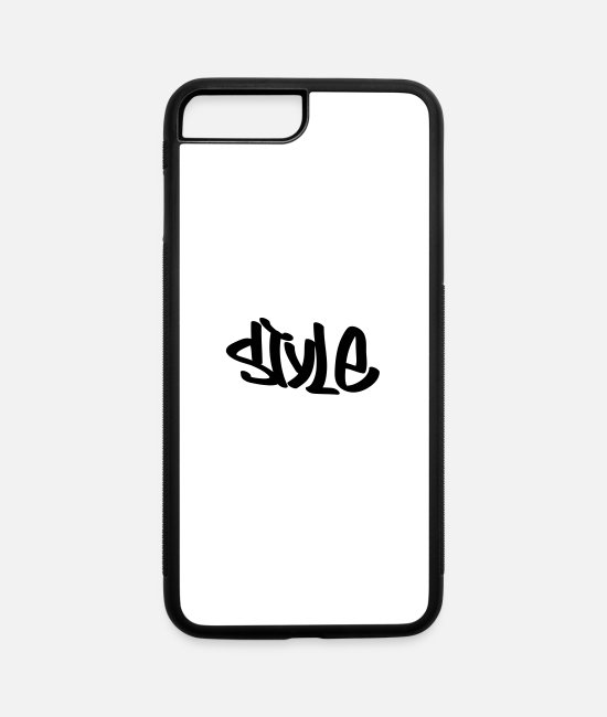 Style iPhone Cases - style - iPhone 7 & 8 Plus Case white/black