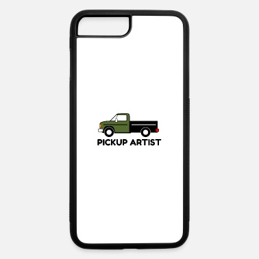 Pickup Line Pickup Artist Truck - iPhone 7 Plus/8 Plus Rubber Case