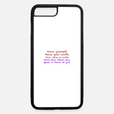 Know Your Worth - iPhone 7 & 8 Plus Case