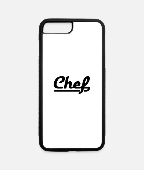 Chef iPhone Cases - chef - iPhone 7 & 8 Plus Case white/black