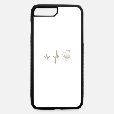 Jewelry gift heartbeat jewelry chest - iPhone 7 Plus/8 Plus Rubber Case