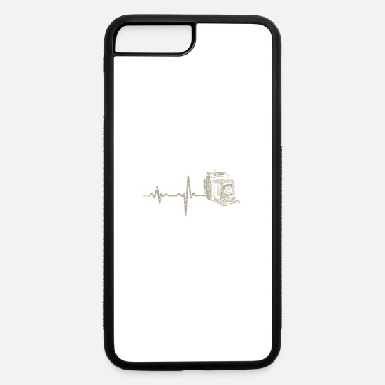 Camera iPhone Cases - gift heartbeat film technology - iPhone 7 & 8 Plus Case white/black