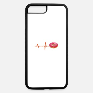 Simpsons gift heartbeat donut - iPhone 7 Plus/8 Plus Rubber Case