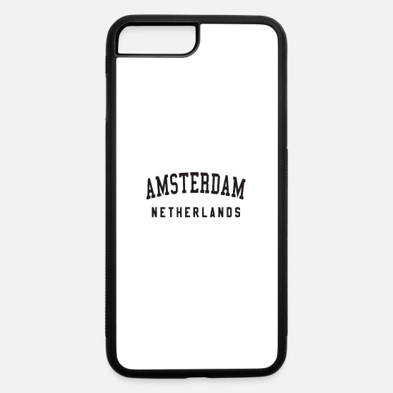 Usa iPhone Cases - netherlands - iPhone 7 & 8 Plus Case white/black