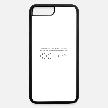 Quadrat Gauss' Law of Quadratic Reciprocity - iPhone 7 Plus/8 Plus Rubber Case