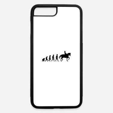 Equitation Evolution Horses Riding Harness Racing Equitation - iPhone 7 Plus/8 Plus Rubber Case
