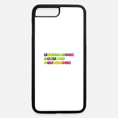 Moron Postmodern halfwit lifestyle - for the blockheads - iPhone 7 & 8 Plus Case