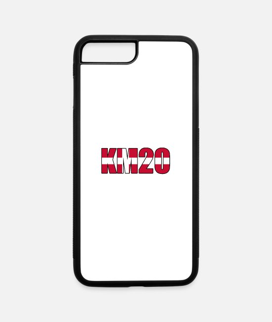 Fan iPhone Cases - KM20 - iPhone 7 & 8 Plus Case white/black