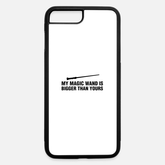 Magic iPhone Cases - my magic wand is bigger than yours - iPhone 7 & 8 Plus Case white/black