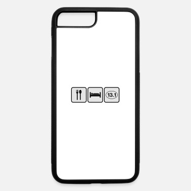 Half Marathon eat sleep half marathon - iPhone 7 & 8 Plus Case