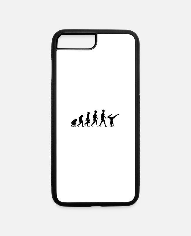 Buddha iPhone Cases - yoga pilates fitness cardio entspannung esoterik20 - iPhone 7 & 8 Plus Case white/black