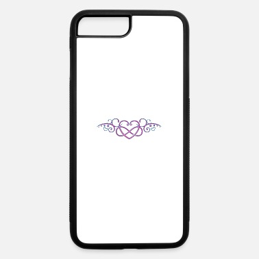 Symbol Heart with infinity symbol, pink - iPhone 7 & 8 Plus Case