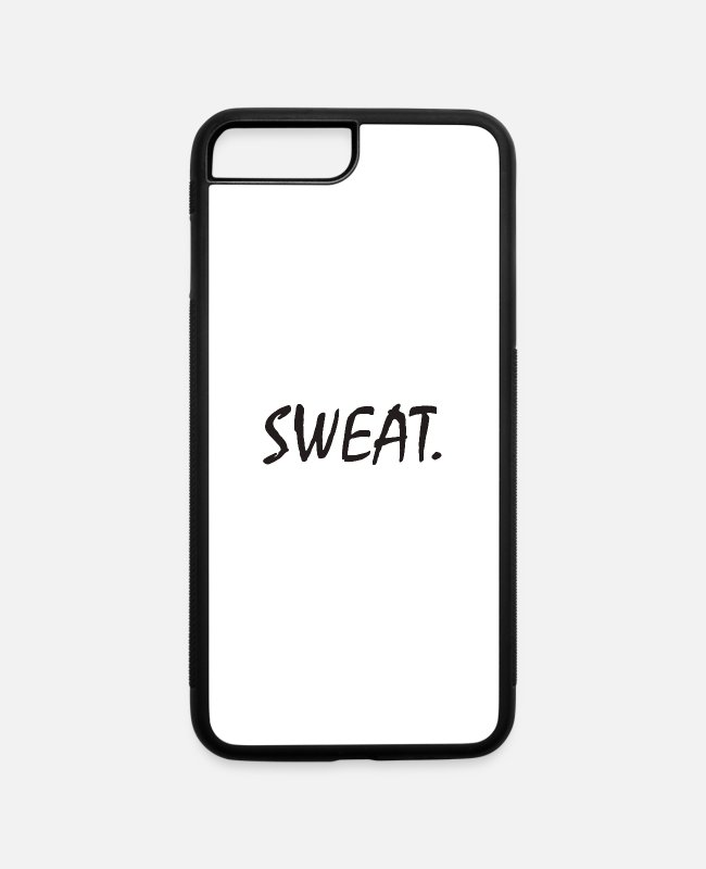 Funny Bowling iPhone Cases - Sweat Funny - iPhone 7 & 8 Plus Case white/black