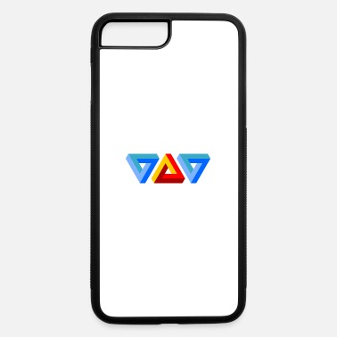 Triangle Triangles - iPhone 7 Plus/8 Plus Rubber Case