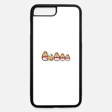 Wooden Doll Matryoshka doll T-shirt. - iPhone 7 & 8 Plus Case