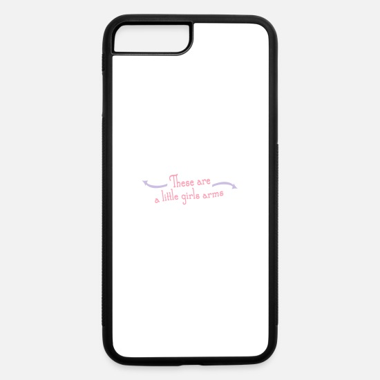 Overland Park iPhone Cases - Most Popular Girls Little Girls Arms Women's - iPhone 7 & 8 Plus Case white/black