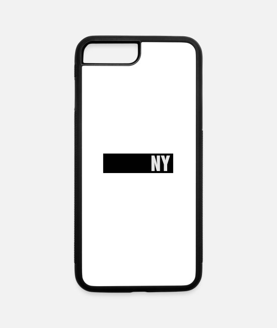 Bjk iPhone Cases - NY - iPhone 7 & 8 Plus Case white/black