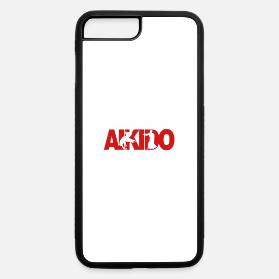 Aikido iPhone Cases - Aikido - iPhone 7 & 8 Plus Case white/black